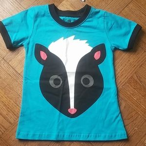 NWT Doodlepants Skunk Top